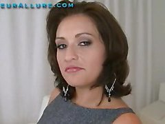 Makalie has a fresh company and is looking for a very particular fresh employee to demo her product in womens homes. Ball Cream Facial Solutions sends out guys to get blowjobs and dump large loads of cum on womens faces then feed 'em the cum. My dream job. The interview consists of an outstanding orall-service and snatch fuck, followed by a cum facial. I love this job. I hope I get it.