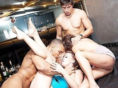 Real fucking movie scenes where the stripped students and cuties partying have the hawt fun and pleasure during the time that hard student fuck, college anal sex and student blow job
