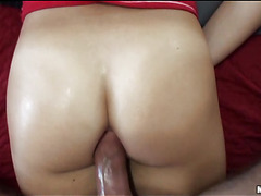 Gal gives priceless vocalized job previous to getting wet holes licked well