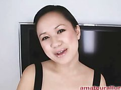 Carmina is a gorgeous twenty year old Oriental student, with a cute little body and an extreme longing for rod. It appears that Carmina has sucked off apropos fifty guys! That's a large number for anybody still in college. This Babe is too blessed with not having a gag reflex so that babe is able to take a wang down her mouth out of an issue. Amazing! After that babe unfathomable mouths my ramrod numerous times, I bow her over and fuck her constricted little shaved fur pie. This Babe wants my load in her mouth, so shen gets on her knees and recieves my full cum discharged into her mouth and swallows it down. This Babe is a fantastic schlong sucker and a great fucking lay.