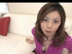 Gorgeous Natsumi getting straight into the action after enjoying slit licking by engulfing shlong as if mad. Watch her riding dick as if a mad woman!