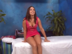 Tenebrous babe has her shaved snatch fucked by a big dick