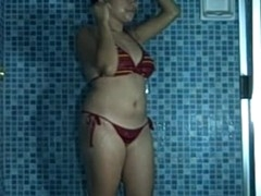 There is no thing hotter than watching a bigtits Oriental amateur slut playing with her huge knockers during the time that this babe is all wet in her shower. Not merely will u watch this hottie playing with those lovely jugs of hers, u will too that babe her having a sexy masturbation shaggy snatch session too!